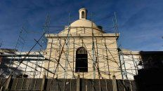 tiene un avance del 90% la puesta en valor de la capilla norte de la iglesia san miguel