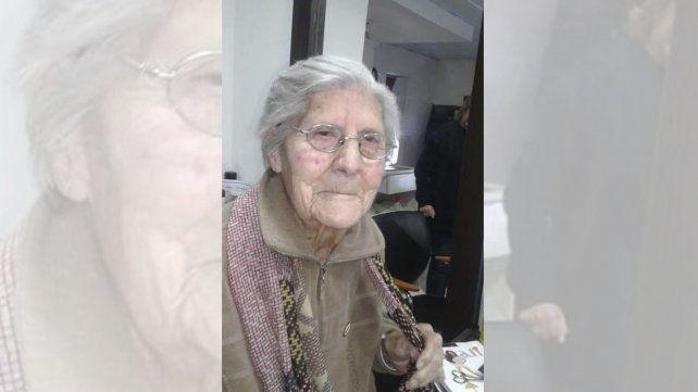 Doña Chola es de Federal y este viernes cumple 100 años