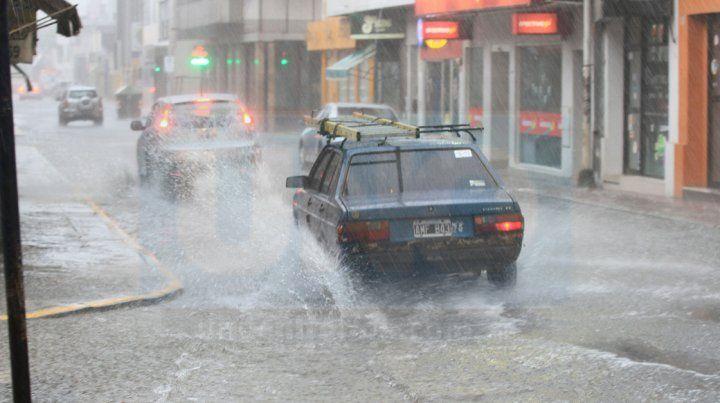 Alerta meteorológico por lluvias y tormentas para Entre Ríos y Santa Fe