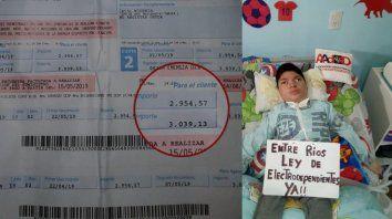 sin ley nacional, electrodependientes pagan facturas de hasta 8.000 pesos