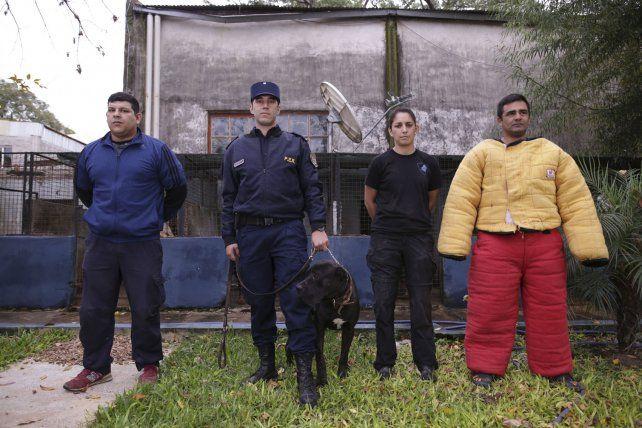 Guías y perros. Luciano Ramírez