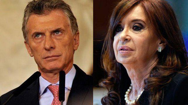 Mauricio Macri convoca a Cristina Fernández de Kirchner
