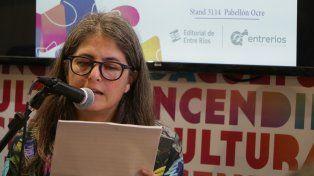 La Autora. Radicada en Buenos Aires desde hace dos décadas, es la primera vez que publica en la provincia.