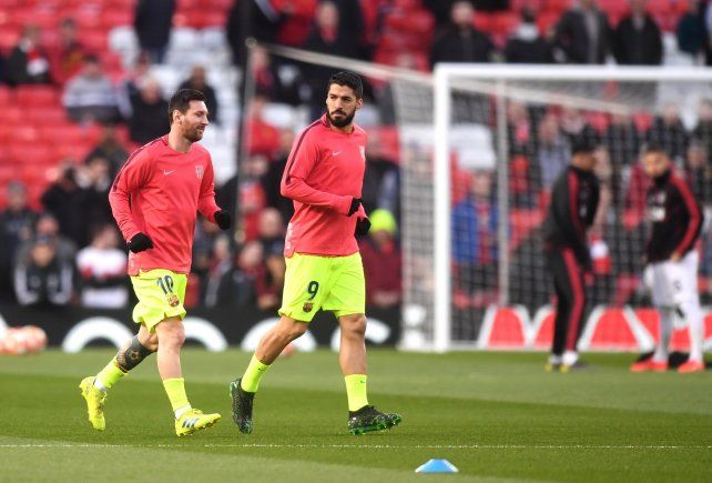 Messi va por el pase a la final de la Liga de Campeones
