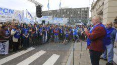 upcn entre rios marcho contra las politicas del gobierno nacional