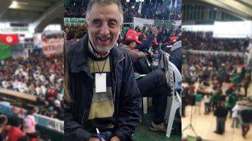 Tincho Martínez está participando en el Foro Agrario que ya fue calificado como histórico.