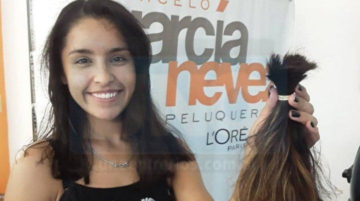 Colectivo solidario recorrerá Paraná para recolectar Pelucas de Esperanza