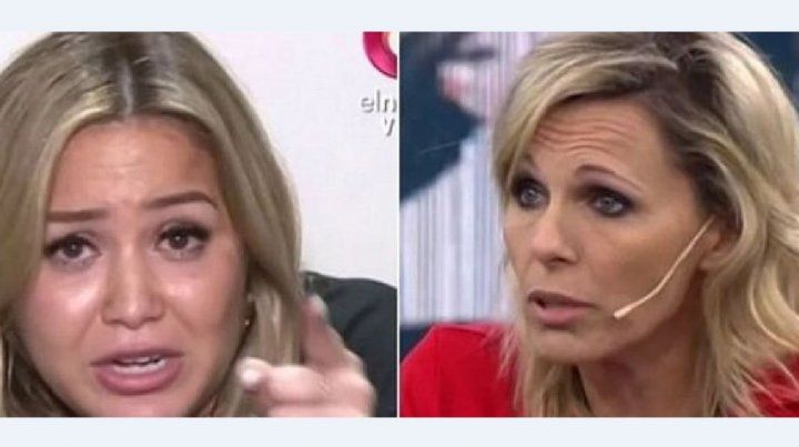 Karina La Princesita y Denise Dumas se cruzaron al aire: Sos una desubicada