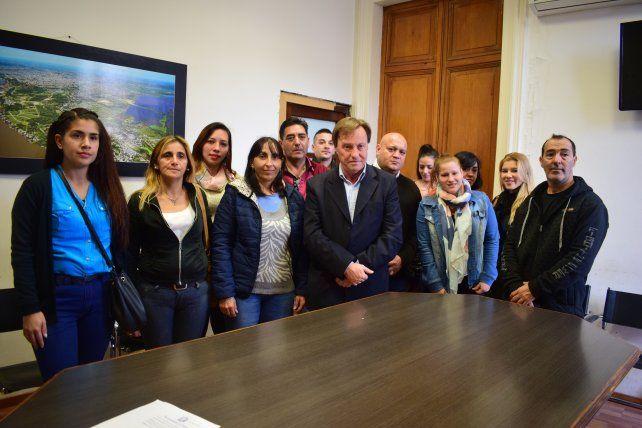 Nuevo apoyo a la reelección de Sergio Varisco