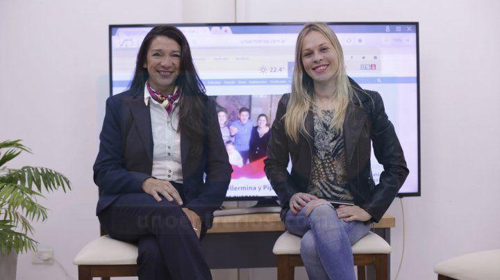 Largaron. Viviana Paiva y Fattys Heinze