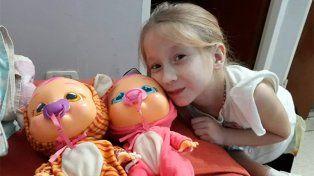 La operación de Joaquina salió muy bien, anunció su papá