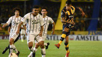 el paranaense joaquin pereyra anoto su primer gol internacional
