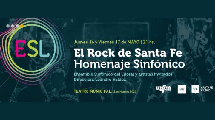 El Rock de Santa Fe: homenaje sinfónico