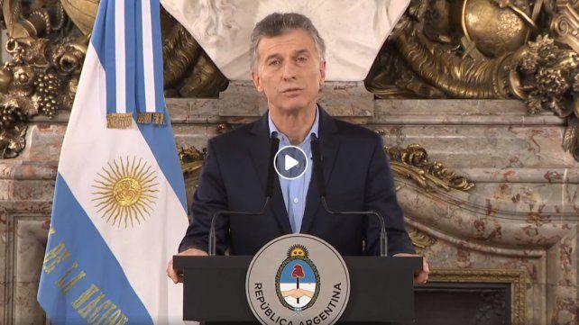 Macri habló del ataque al diputado Olivares a metros del Congreso
