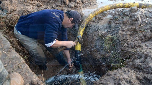 Acceso Sur a Paraná: Por mejoras en la red maestra hay un corte de agua