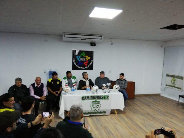 Una nueva liga para clubes de la región