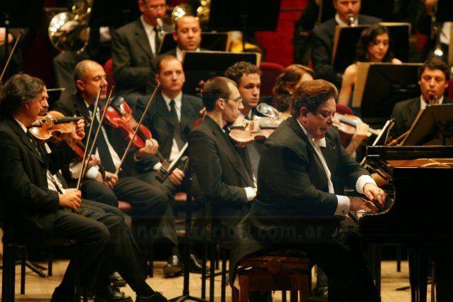Juntos. La Sinfónica y Bruno Gelber