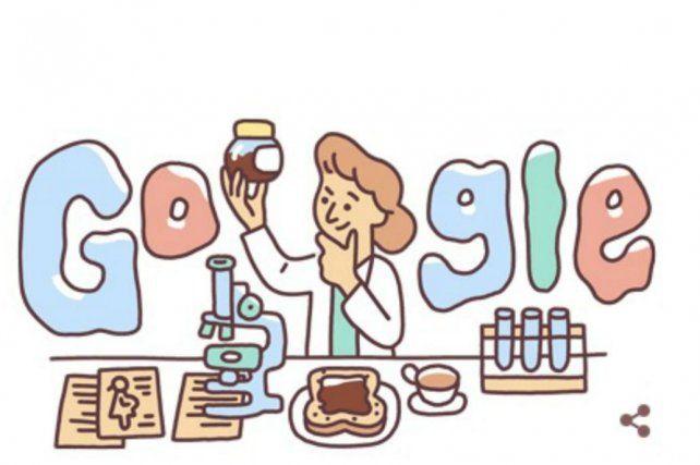 Google homenajeó a una mujer científica que realizó un trabajo muy destacado