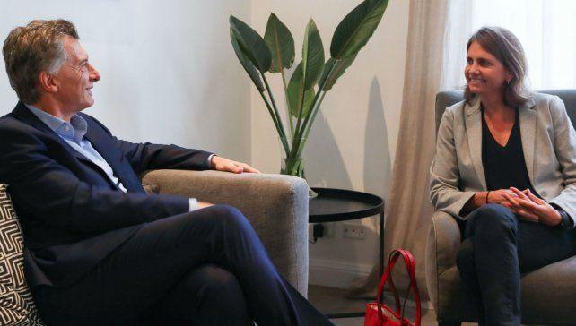 Macri recibió a la científica del Conicet que ganó un concurso televisivo