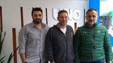A divertirse. Gustavo Vázquez, Luciano Barbagelata y Sergio Bruzzoni hablaron de la actividad que será hoy.