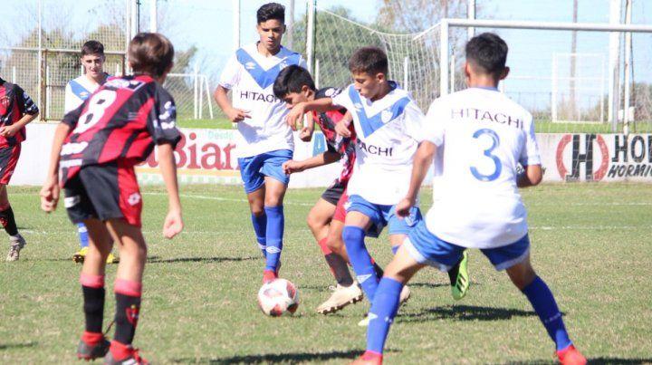 Los juveniles de Patronato sufrieron el potencial de Vélez
