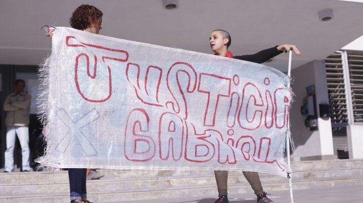 Nuevo reclamo de Justicia por Gabriel Gusmán frente a Tribunales