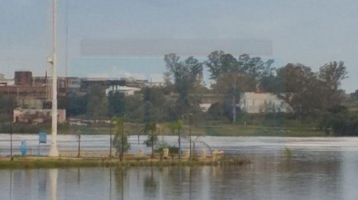 Preocupa el nuevo repunte del río Uruguay que ya afecta a Concordia