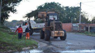 El operativo integral de limpieza llega a más barrios