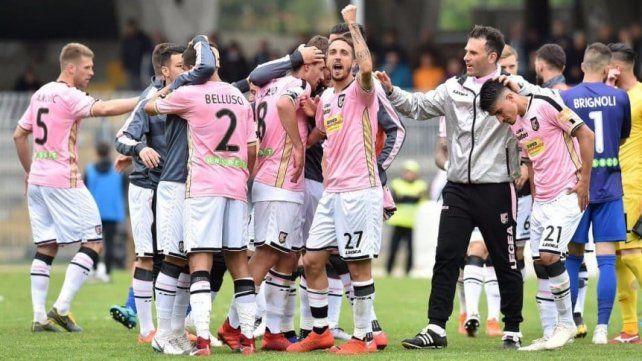 Palermo, descendido a la Serie C en el escritorio