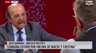 Julio Bárbaro: Con la ex mandataria la gente vivía mejor