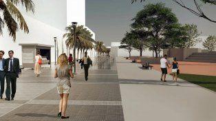 Así sería la nueva peatonal de Paraná