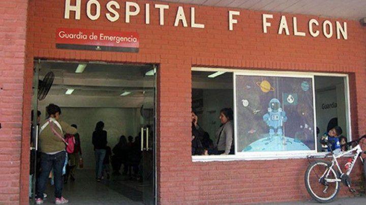 La víctima se encunetra internada en el Hospital Pediátrico Falcón