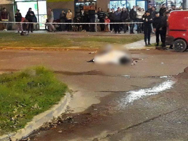 Fatal accidente en el cruce de calle Maciá y avenida Ramírez