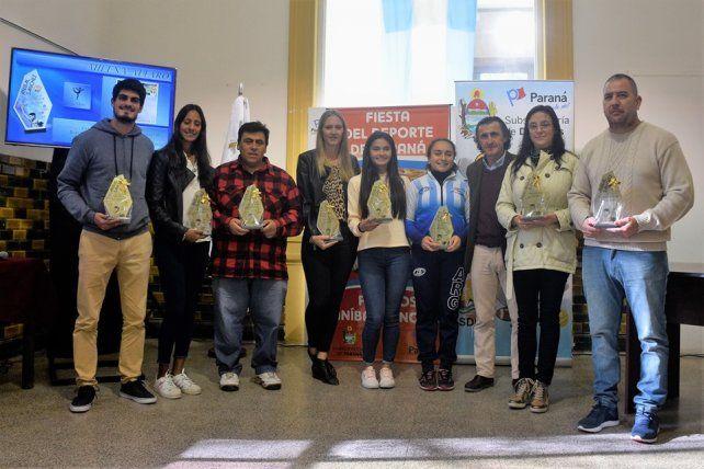 Todos juntos. El acto de premiación se llevó a cabo en la Casa de la Costa del Paraná