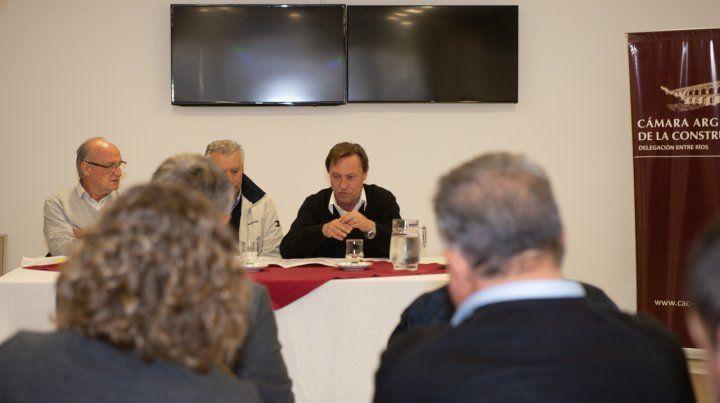 Empresarios de la Construcción apoyan plan de obras de la municipalidad de Paraná