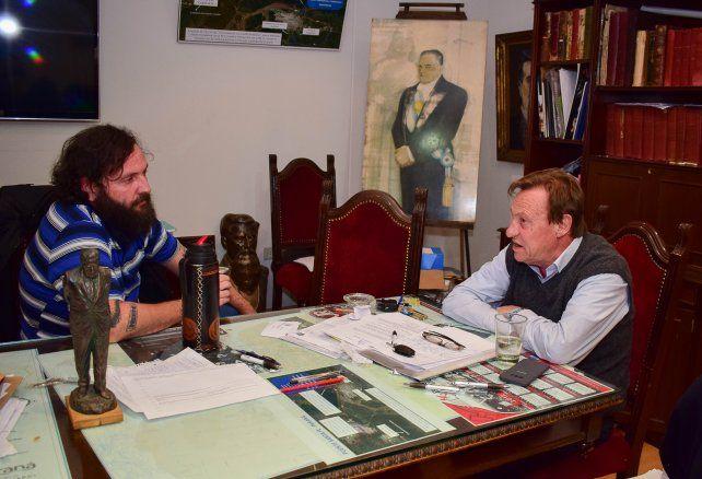 Toto Solanas con Varisco