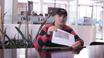 un hombre ciego obtuvo su jubilacion y esperanzo a entrerrianos que aguardan por el beneficio