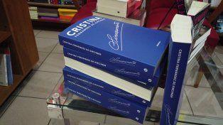También en Paraná es furor el libro de Cristina Fernández
