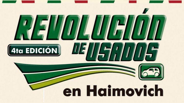 Este fin de semana hay Revolución de Usados en Haimovich