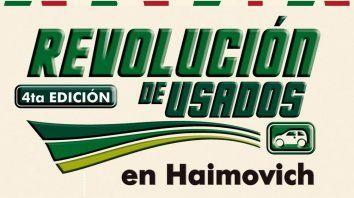 este fin de semana hay revolucion de usados en haimovich