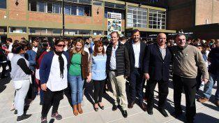 Bordet inauguró un nuevo edificio escolar en Maciá