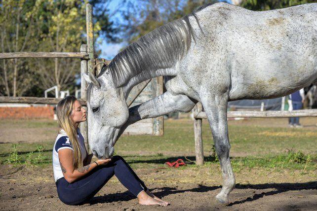 El sorprendente vínculo que tiene Ana Orbes con los caballos