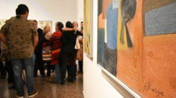 Exposición. La muestra se inauguró el 26 de abril y permanecerá abierta hasta el 8 de junio.