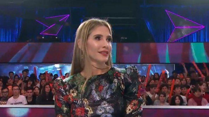 Inesperada reacción de Guillermina Valdes cuando Tinelli le pidió que desfile