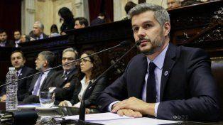 Marcos Peña le respodió a Cornejo: A un presidente no se lo somete a una interna