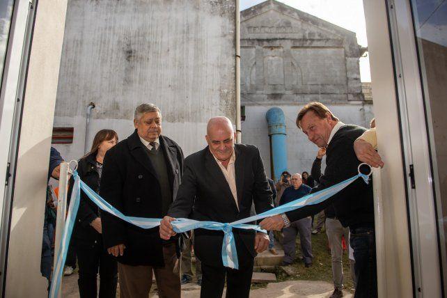 Se inauguró la sala de telemetría y monitoreo de Obras Sanitarias