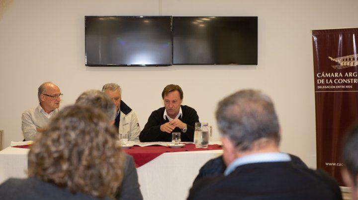 La Cámara Argentina de la Construcción destacó el nivel de obra pública en Paraná