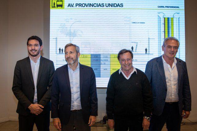 Varisco presentó el Plan de Movilidad Urbana de Paraná con apoyo nacional