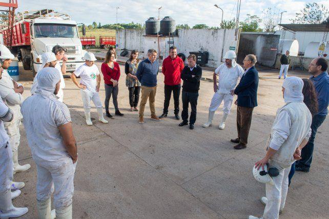 Varisco visitó la Cooperativa de Carniceros de Paraná