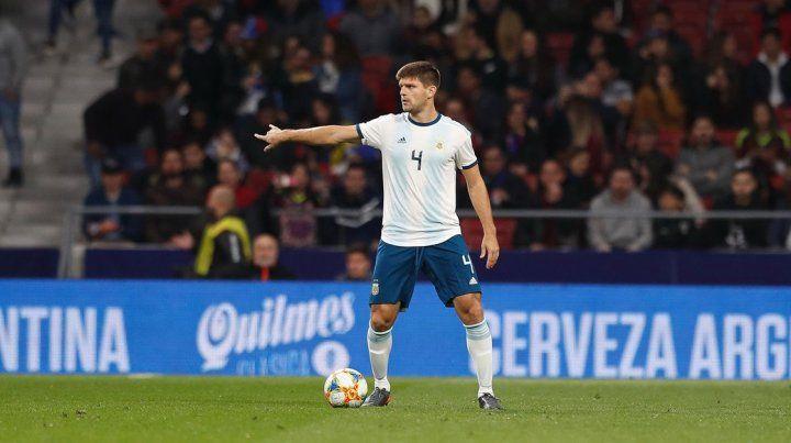 El entrerriano Walter Kannemann podría quedar al margen de la Copa América